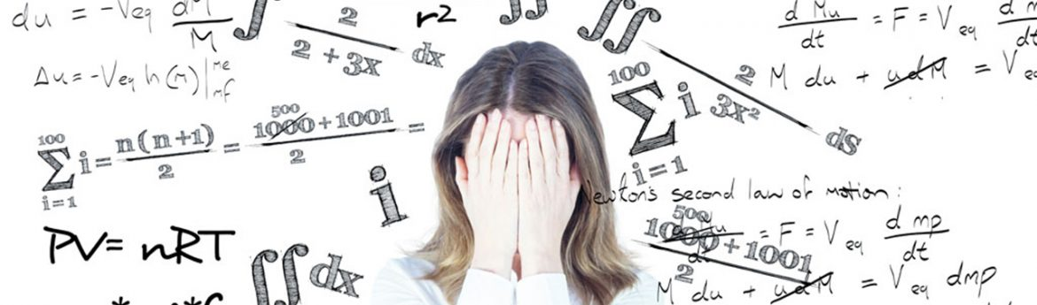 maths phobia Math anxiety conjures up fear of some type the fear that one won't be able to do the math or the fear that it's too hard or the fear of failure which often stems from having a lack of confidence.